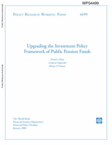 world bank policy research papers