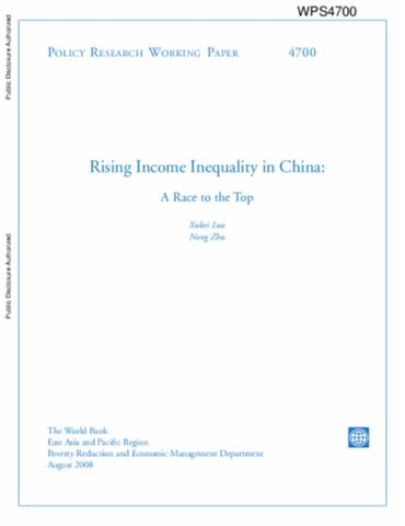 chinas rising inequality essay Rising inequality in china what are the lessons from brazil's success in inequality reduction - luca kaiser - master's thesis - economics - case scenarios.
