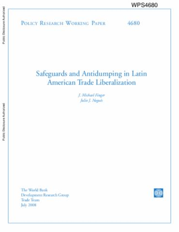 liberalization of world tradelatin america essay Full-text paper (pdf): does tariff liberalization promote trade latin america in the long run (1900-2000.