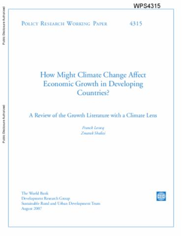 Positive and Negative impacts of Economic Growth Springer Link