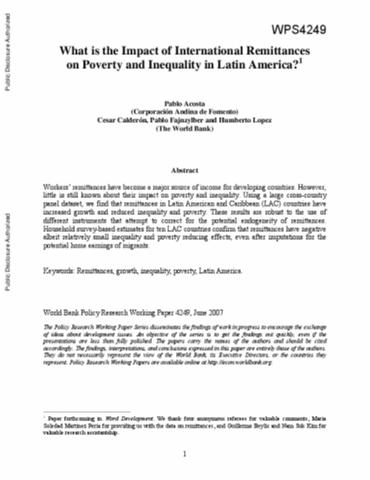 poverty in the caribbean research paper Rupri rural poverty research center oregon state university no one theory explains all instances of poverty, this paper aims to show how community.