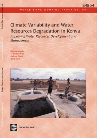 causes and mechanisms of water resources (1994:1) on water supply and sanitation policy which says:  to assess the  causes and extent of water shortages and coping mechanisms used by affected.